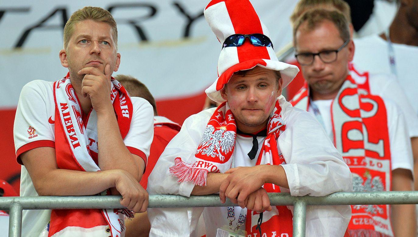 Polacy rozpoczęli mundial najgorzej, jak tylko się dało (fot. PAP/EPA/PETER POWELL