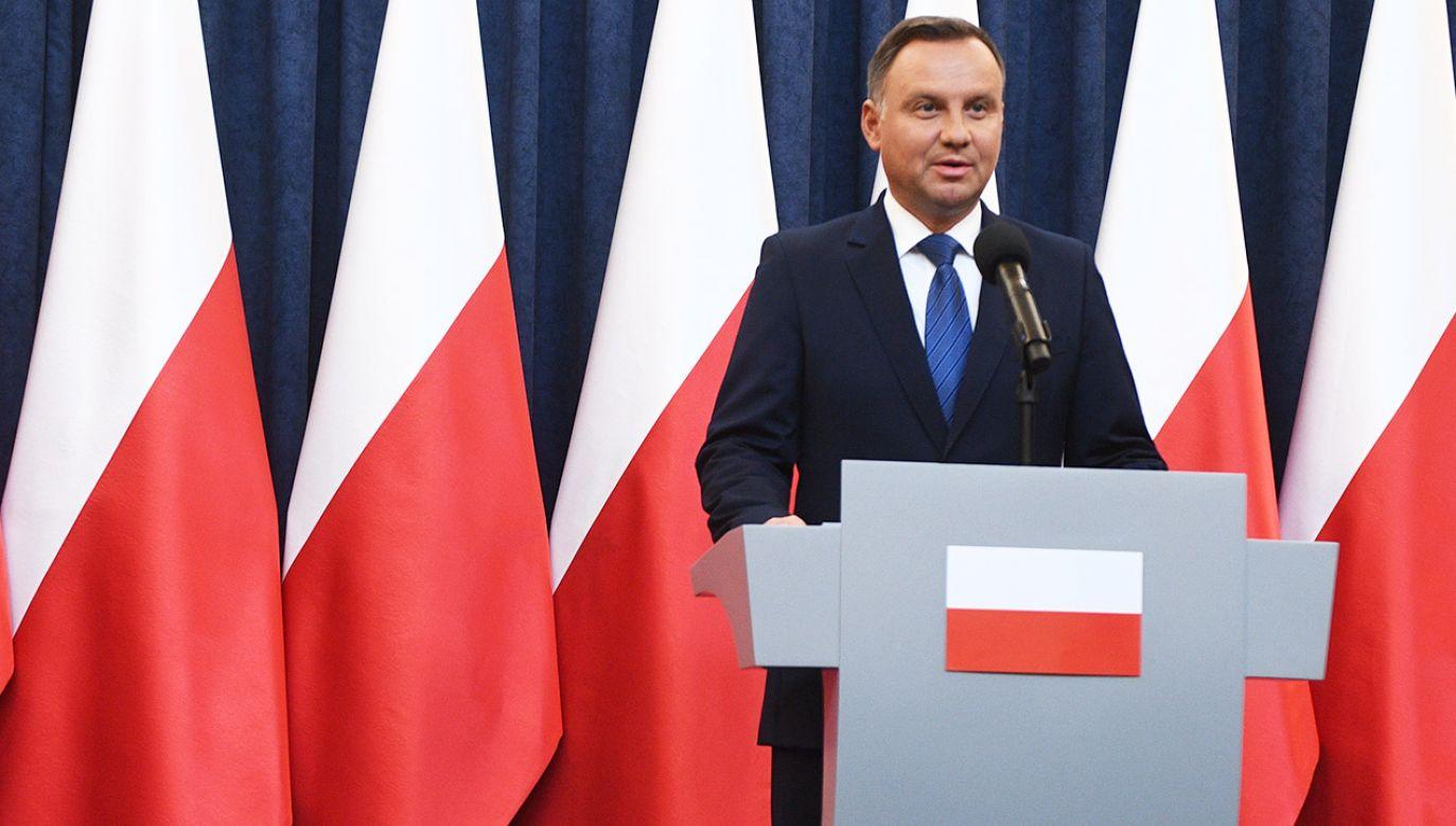 Prezydent Andrzej Duda (fot. PAP/Jacek Turczyk)