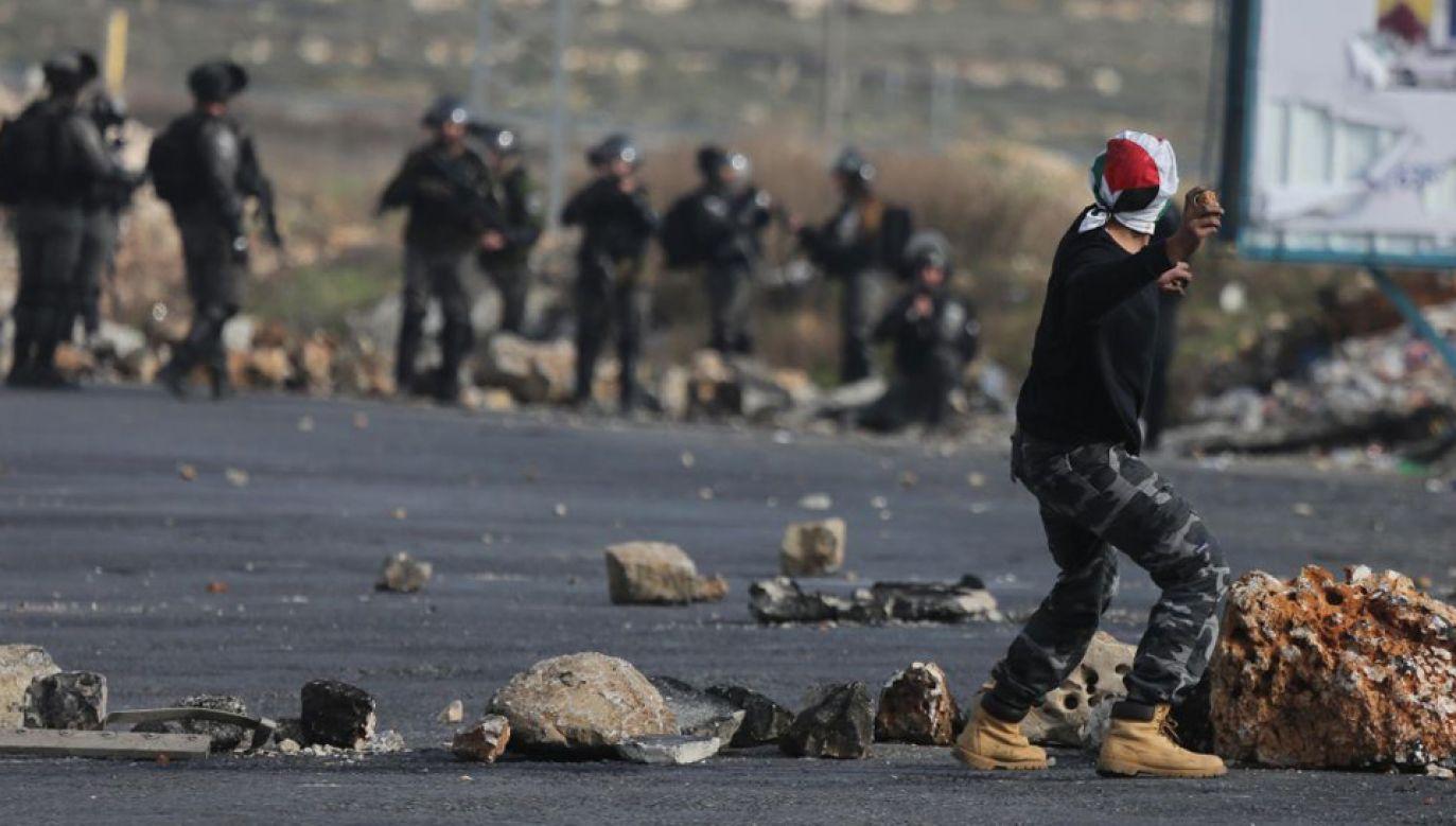 Od kilku tygodniu na Zachodnim Brzegu wrze (fot. Issam Rimawi/Anadolu Agency/Getty Images)