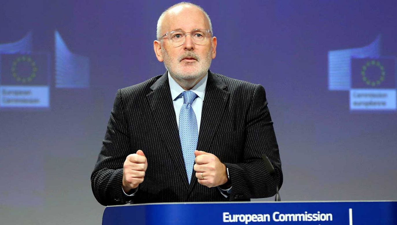 Wiceszef Komisji Europejskiej Frans Timmermans (fot. Dursun Aydemir/Anadolu Agency/Getty Images)