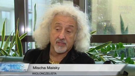 Mischa Maisky z Bachem u Cystersów