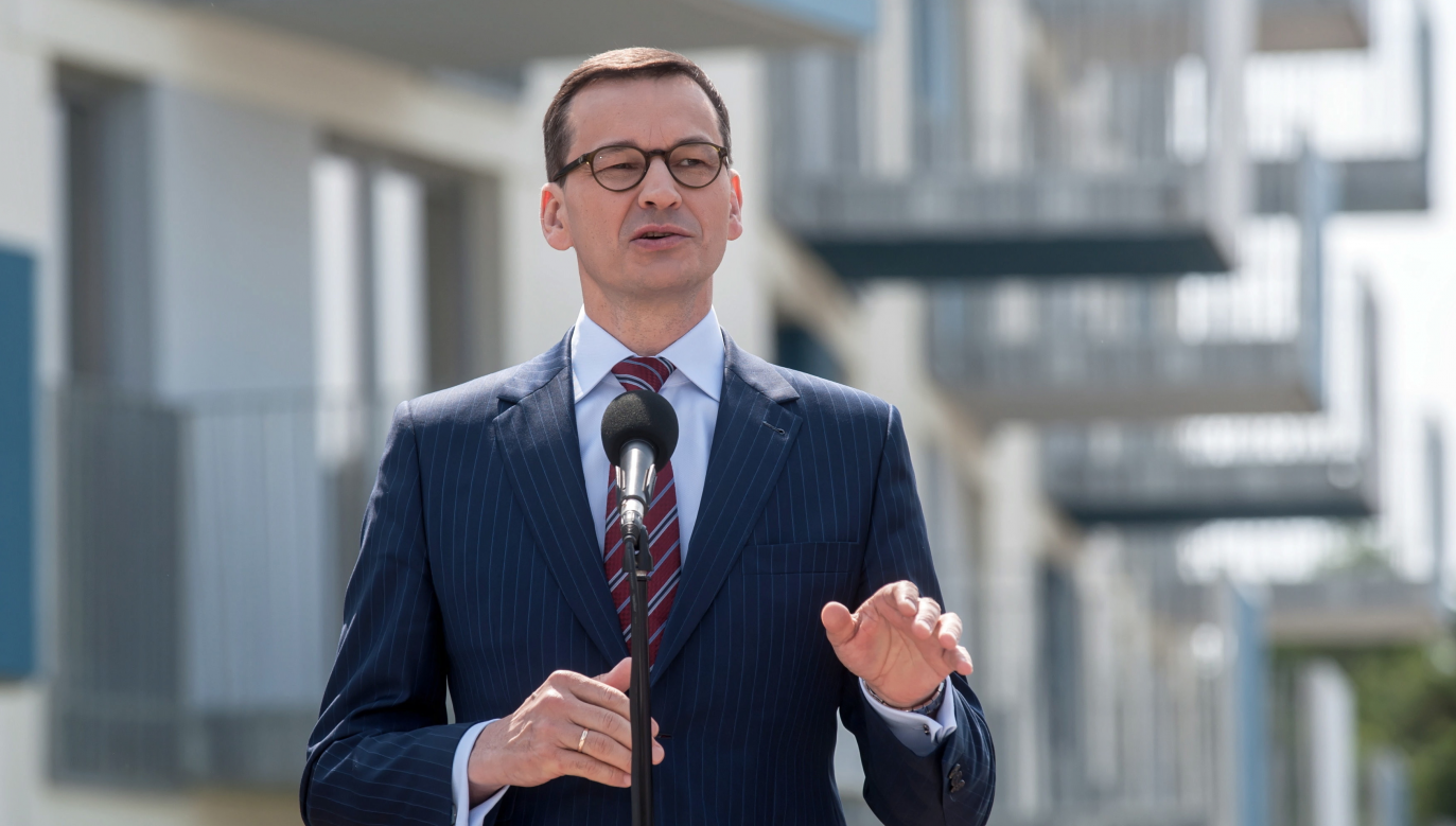 Polish PM Mateusz Morawiecki. Photo:PAP/Tomasz Koryszko