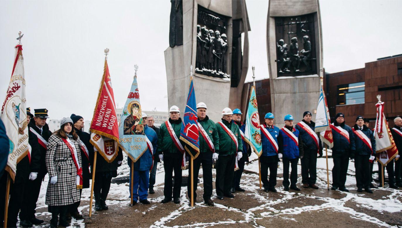 W Gdańsku odbyły się rocznicowe uroczystości (fot.PAP/Marcin Gadomski)