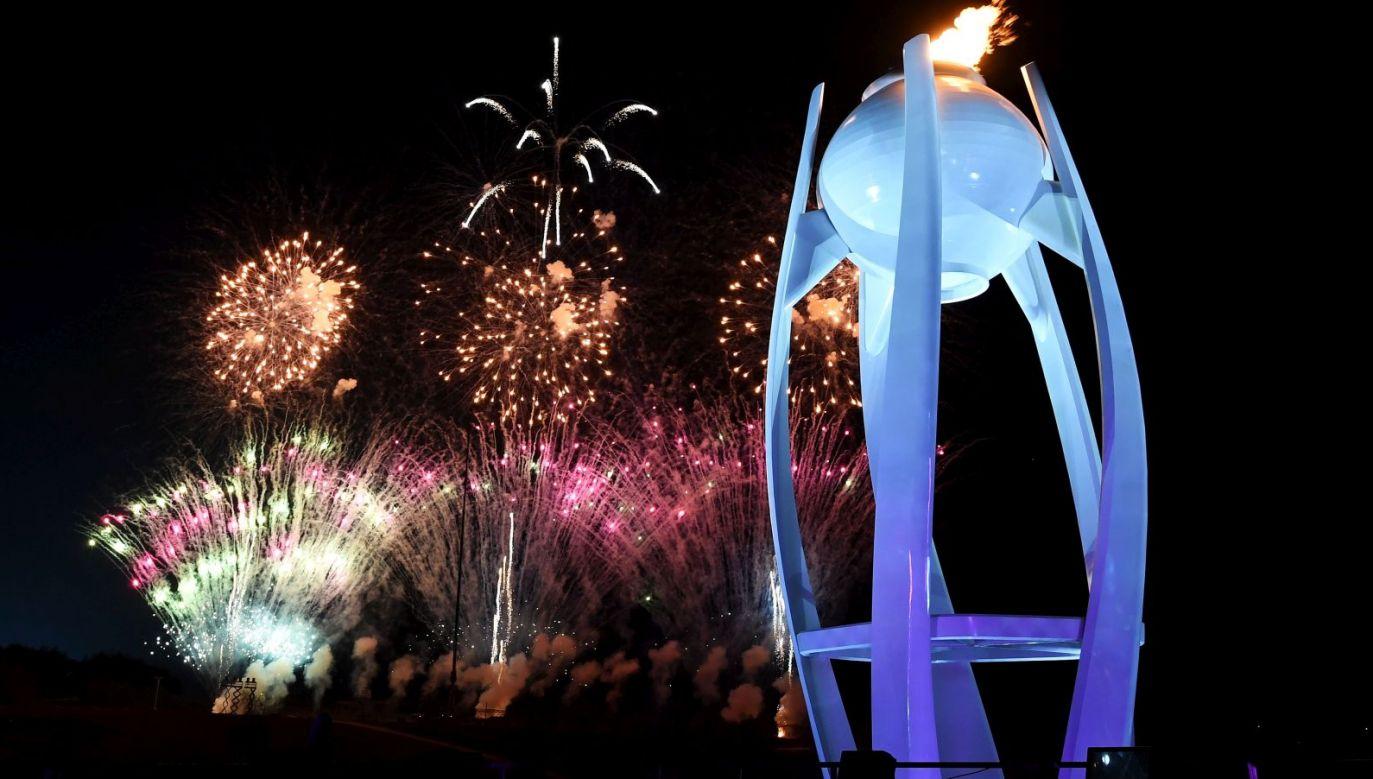 Ogień olimpijski w Pjongczangu (fot. Getty Images)