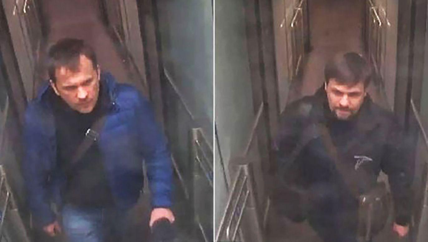 Dwaj agenci, którzy zostali objęci restrykcjami, są oskarżani przez brytyjski rząd o próbę otrucia Siergieja Skripala (fot. METROPOLITAN POLICE)