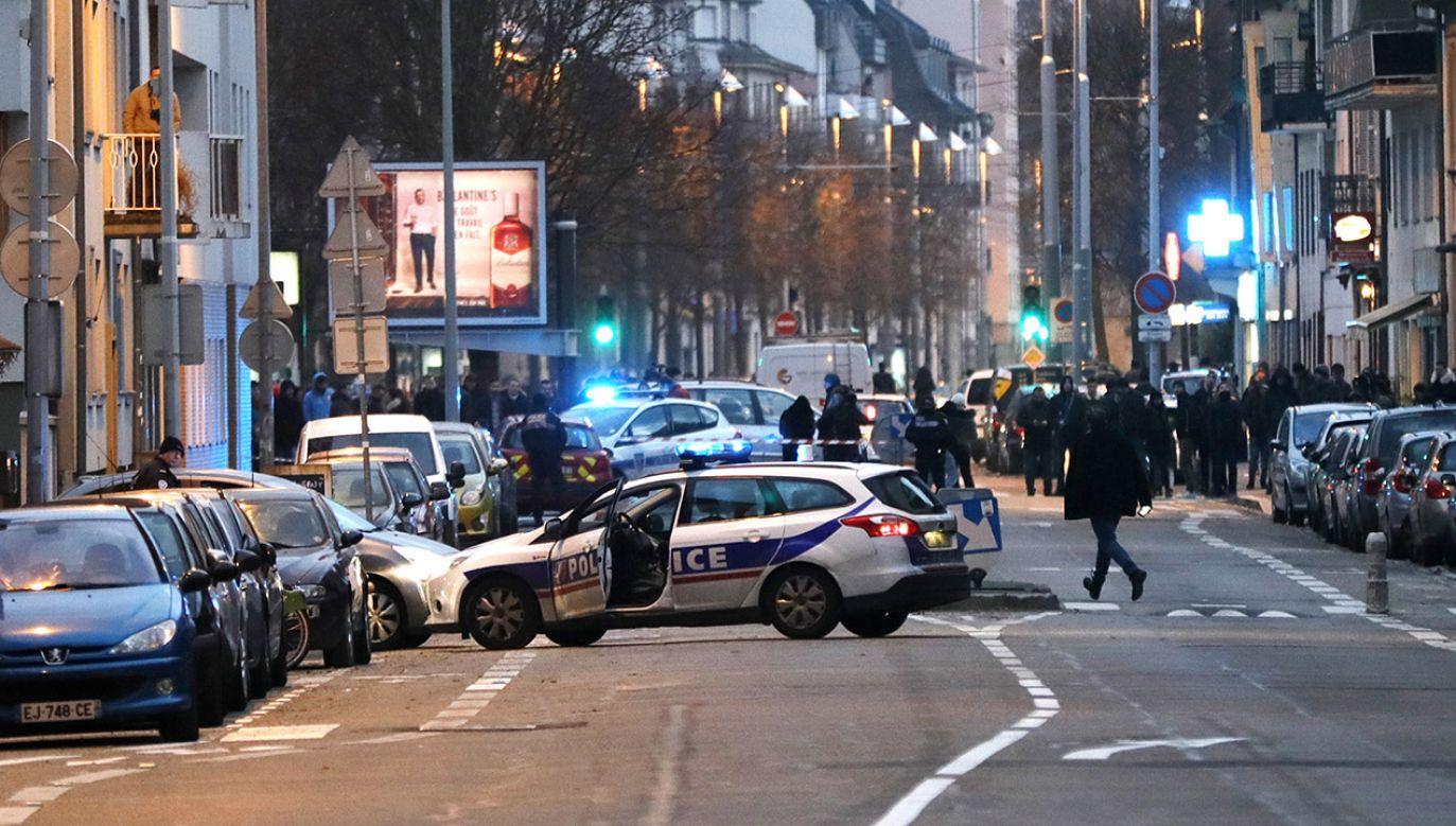 W wyniku wtorkowego zamachu w Strasburgu zginęło 5 osób, a 11 zostało rannych (fot. PAP/EPA/RONALD WITTEK)