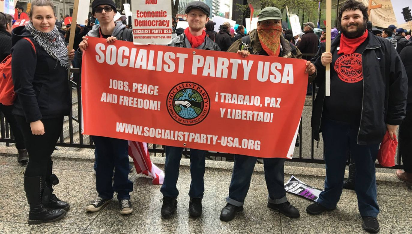 Zwolennicy socjalizmu to głównie młodzi w wieku 18-35 (fot. FB/Socialist Party USA)