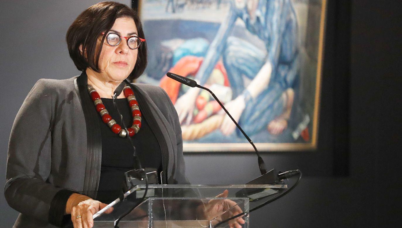 Ambasador Izraela, Anna Azari (fot. REUTERS/Kacper Pempel)