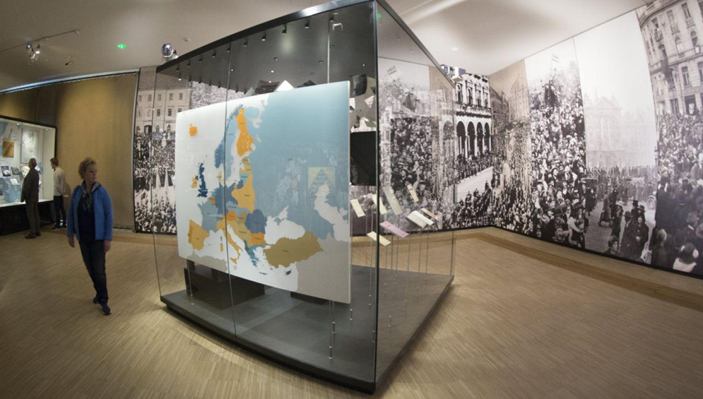 Dom Historii Europejskiej sugeruje m.in., że Józef Piłsudski był dyktatorem (fot. PAP/EPA/OLIVIER HOSLET)