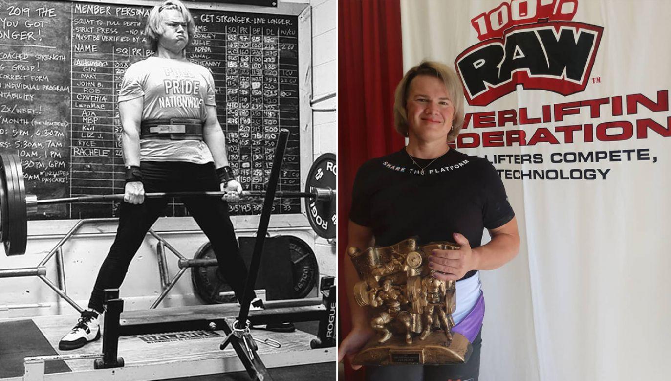 Mary Gregory zdążyła po zwycięstwie podziękować Federacji Trójboju Siłowego RAW zanim ta odebrała jej tytuł (fot. Instagram/Mary Gregory)