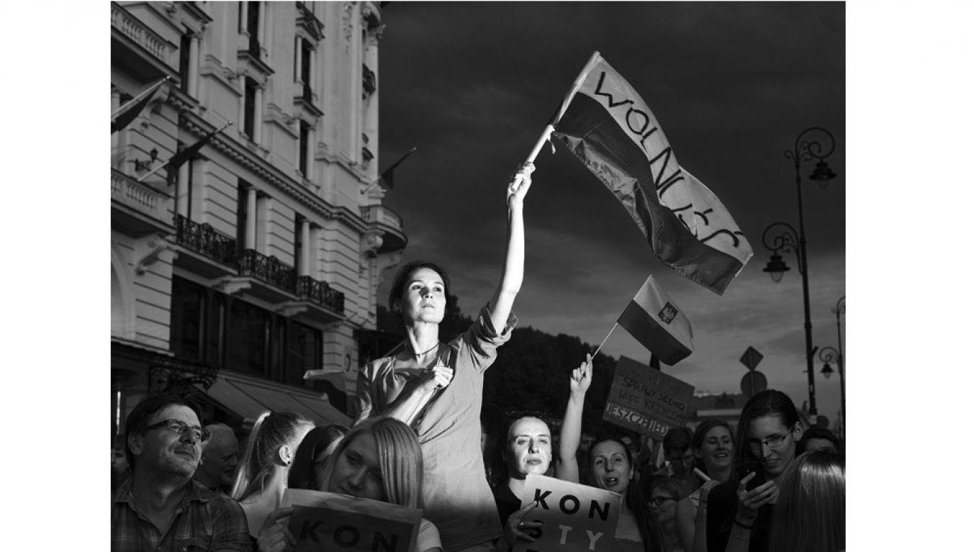 Polish photographer won the Grand Press Photo. Photo:Adam Lach/Napo Images