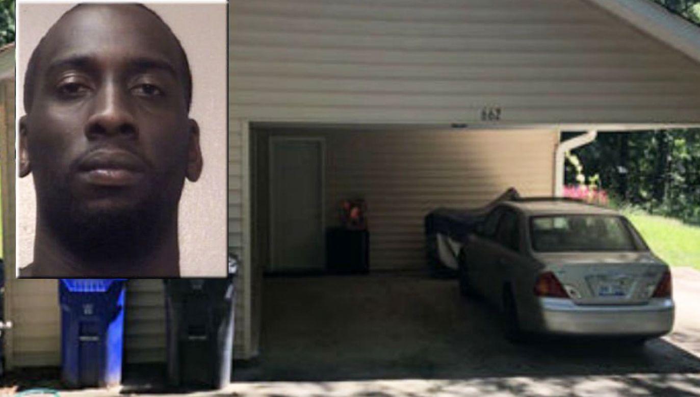 """""""J.J."""" Hickson Jr. włamał się do rezydencji, ukradł 100 tys. dolarów i pobił nastolatka (fot. tt/Telemundo Atlanta)"""