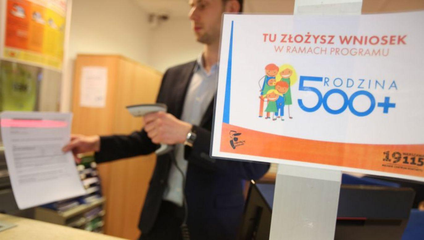 Po zmianach w 2019 r. na program trzeba będzie przeznaczyć ok. 31 mld zł, a w 2020 r. - ok. 41 mld zł (fot. PAP/Leszek Szymański)