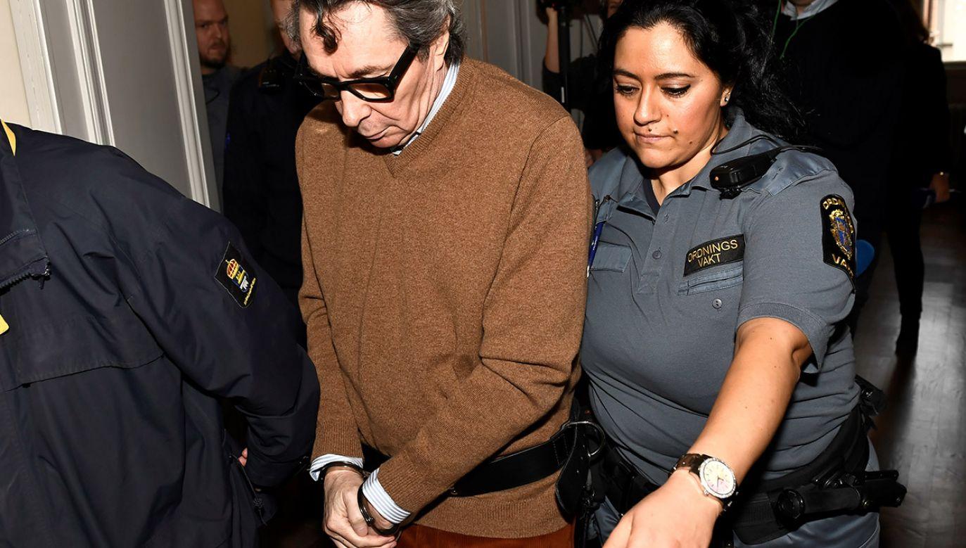 Z dochodzenia wynika, że mąż Frostenson i współpracownik Akademii, Jean-Claude Arnault był źródłem przecieków (fot. TT News Agency/Jonas Ekstromer via REUTERS)