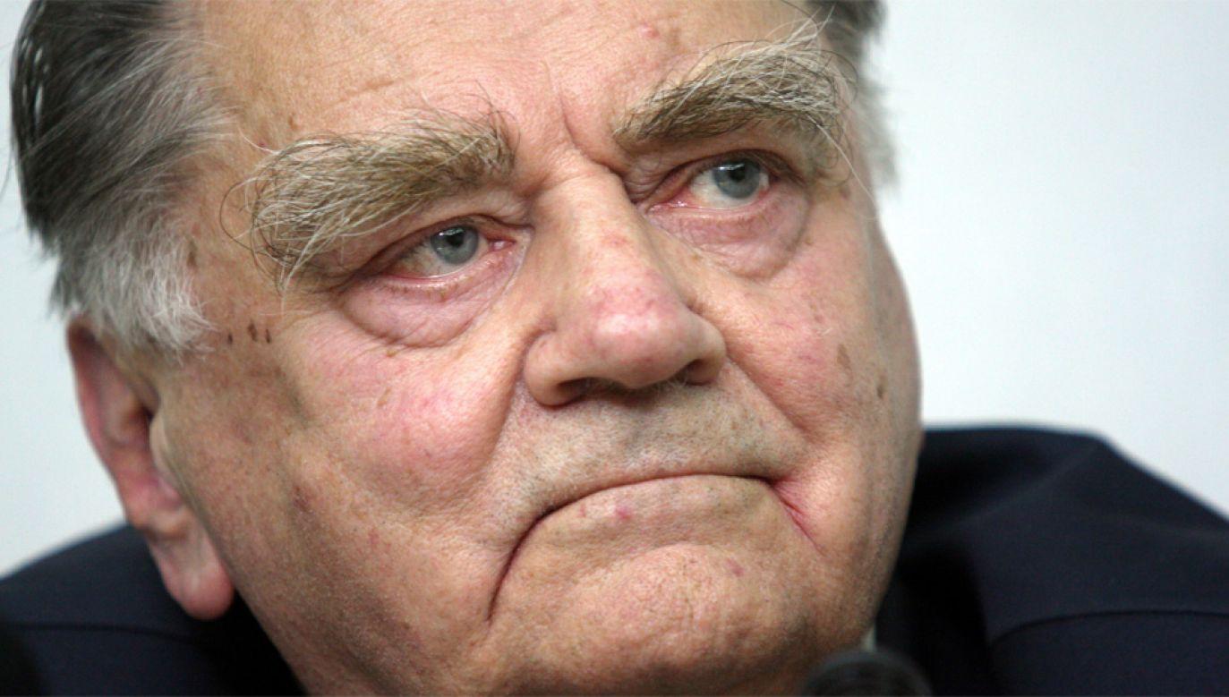 Jan Olszewski zmarł 7 lutego (fot. PAP/Tomasz Gzell)