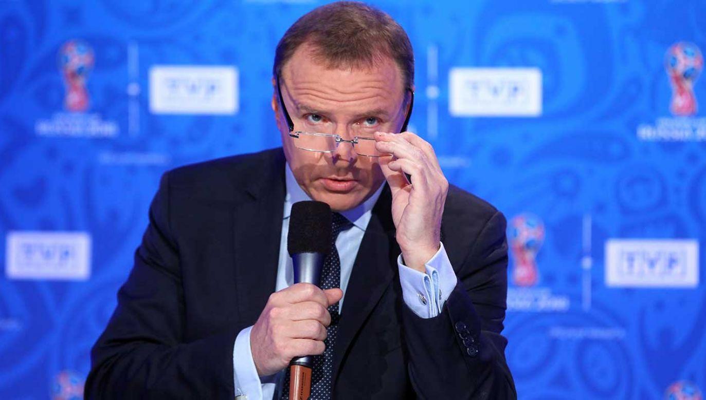 Prezes TVP podał, że telewizja zarobiła na mundialu 10 mln zł netto (fot. PAP/Rafał Guz)