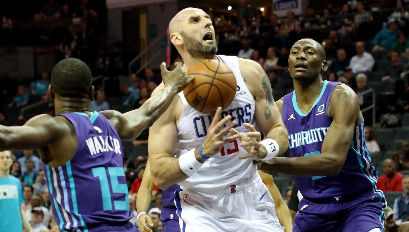 Marcin Gortat był jedynym Polakiem w NBA (fot. Getty)