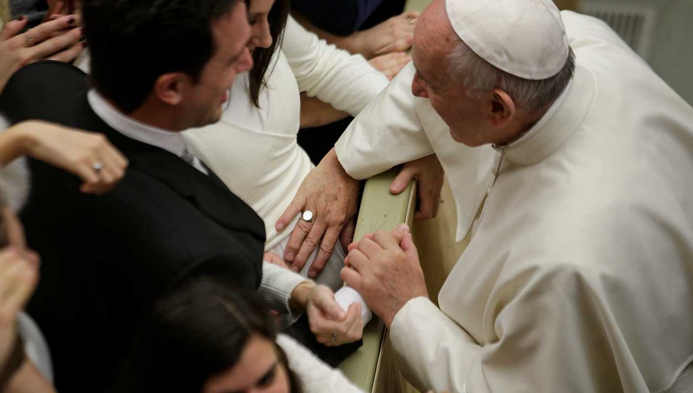 Papież Franciszek odwiedził sanktuarium w Loreto (fot. REUTERS/Max Rossi)