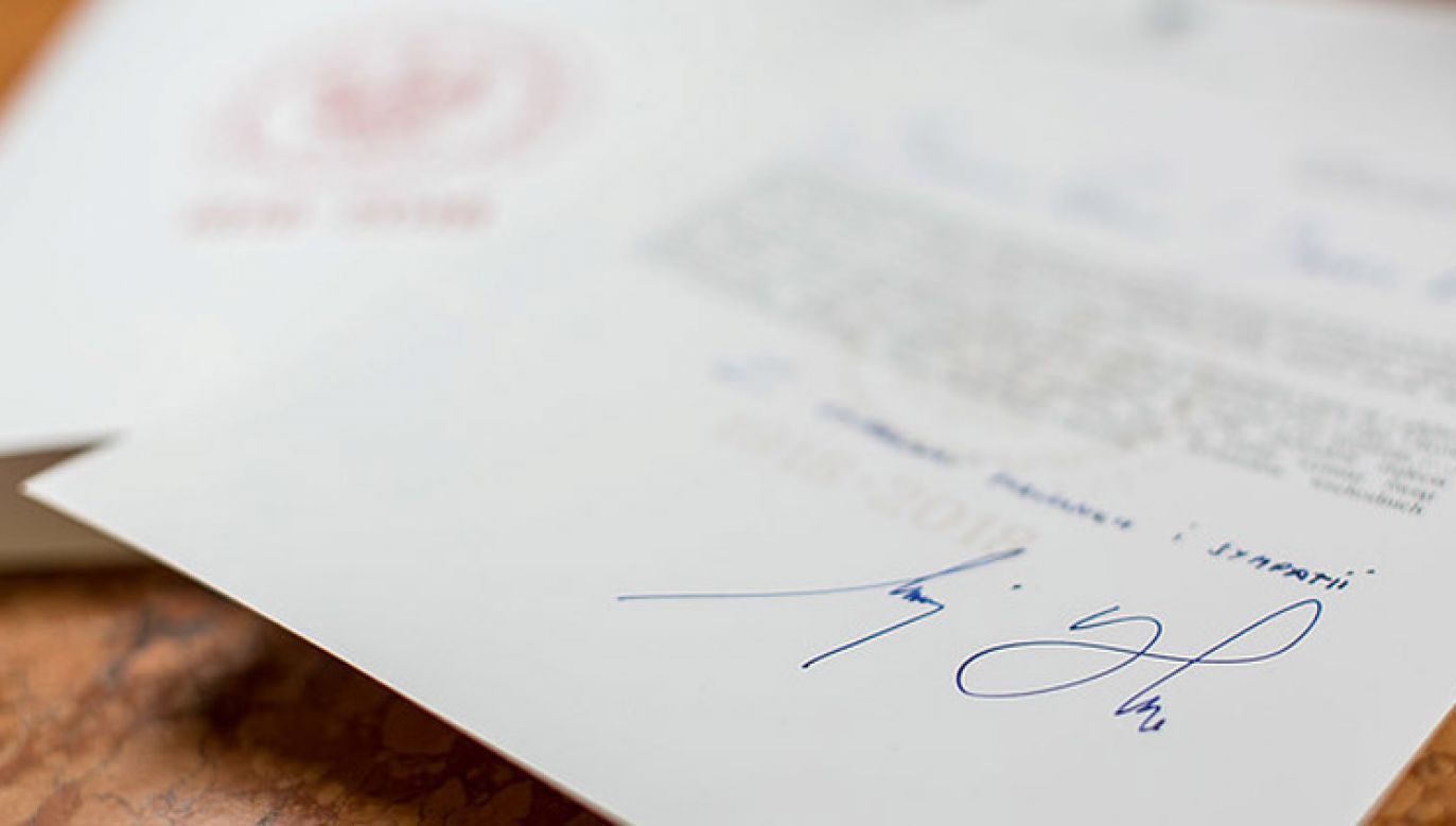 Prezydent Duda skierował list do uczestników gali wręczenia Nagród im. Grzegorza Palki (fot. KPRP/Krzysztof Sitkowski)