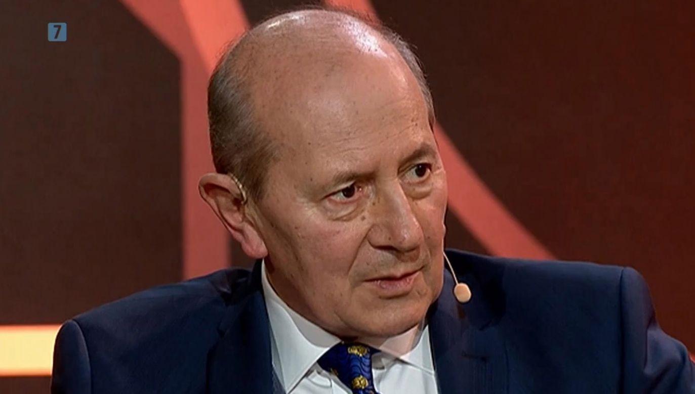 Jako sprawozdawca sportowy Szaranowicz przekazywał relacje z wielu dyscyplin, m.in.: skoków narciarskich i zawodów lekkoatletycznych (fot. TVP 1)