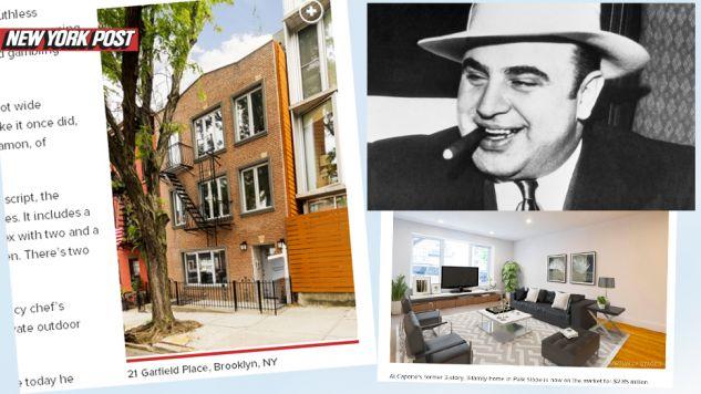 Za dom Ala Capone trzeba zapłacić 2,85 mln dolarów (fot. NYPost/Wiki)
