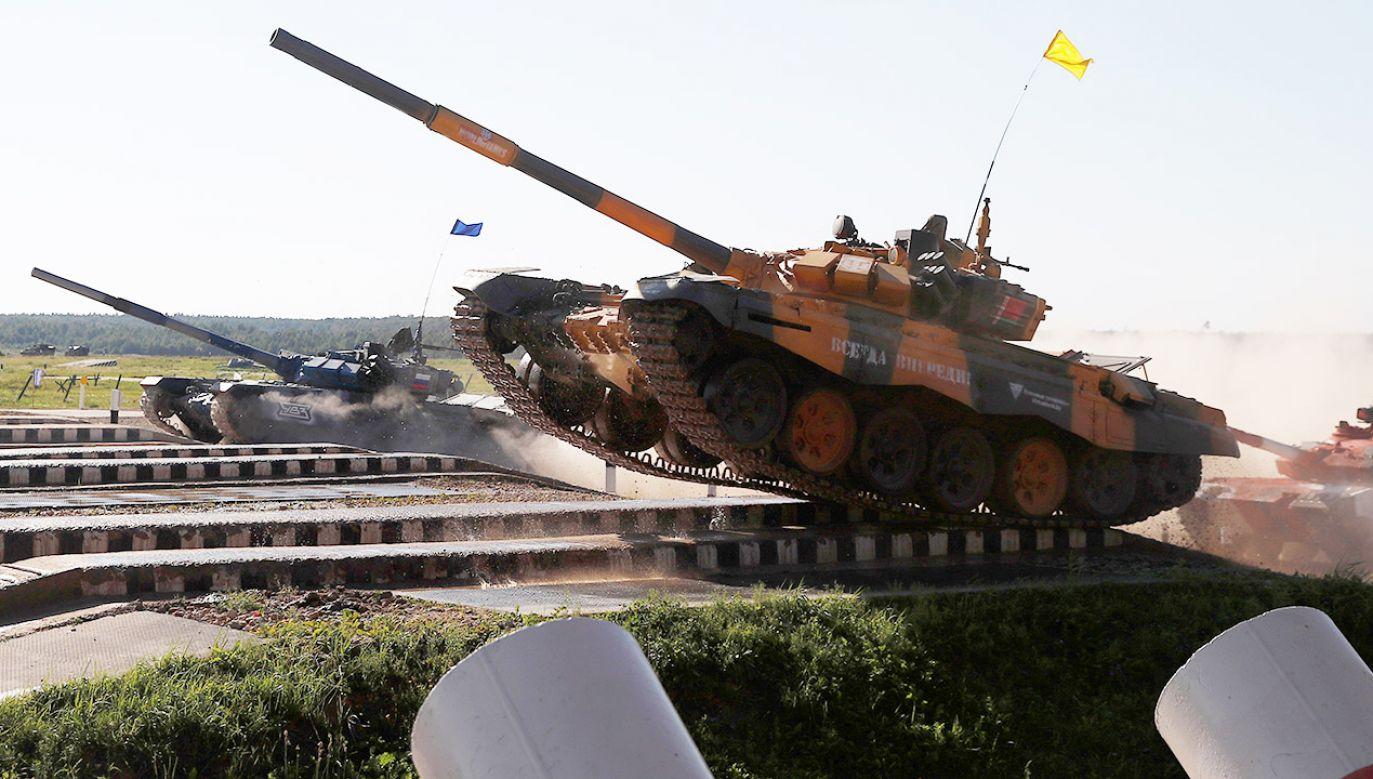 """Rosja """"będzie podejmować działania w odpowiedzi"""" (fot. REUTERS/Maxim Shemetov)"""