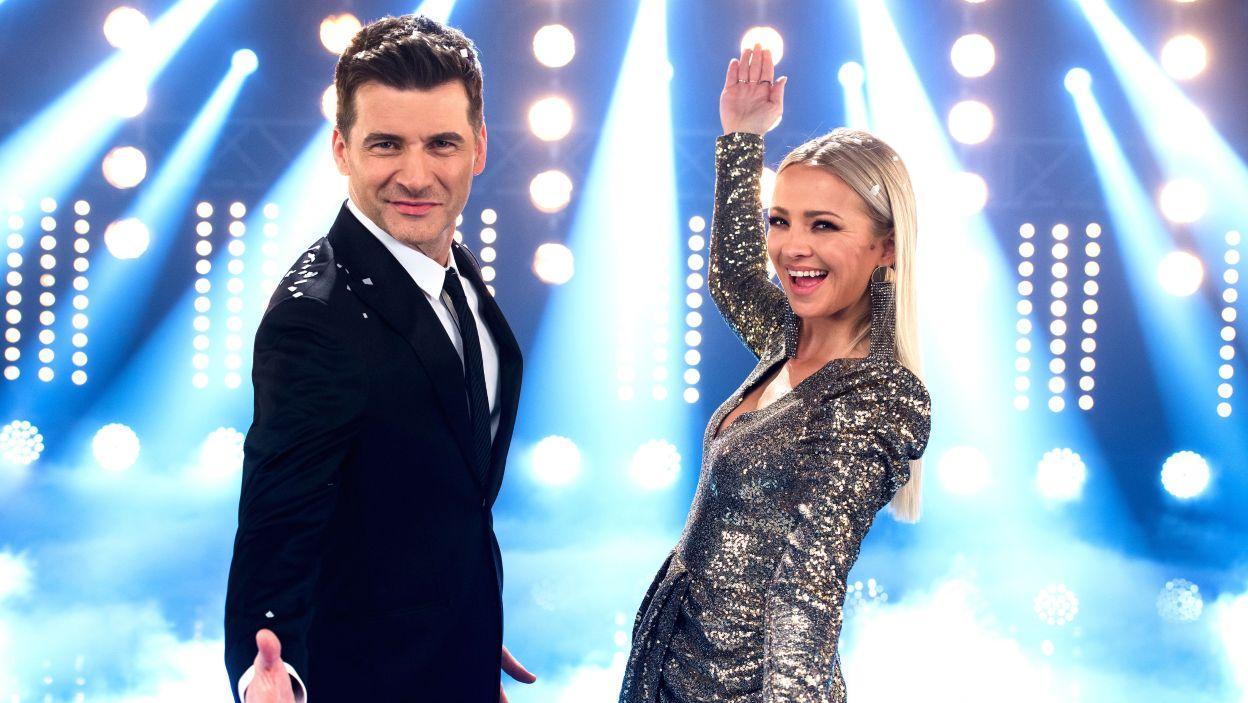 Sylwestrową zabawę poprowadzą: Tomasz Kammel i Barbara Kurdej-Szatan (fot. J. Bogacz/TVP)