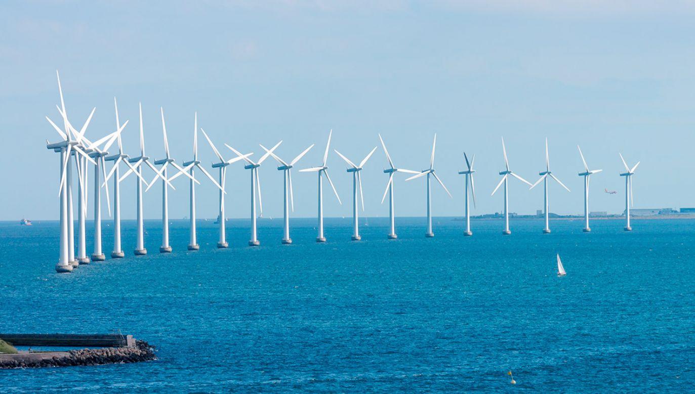 Na Bałtyku, na wysokości Łeby, PGE chce postawić wiatraki o łącznej mocy 2545 MW (fot. Shutterstock/ Tony Moran)