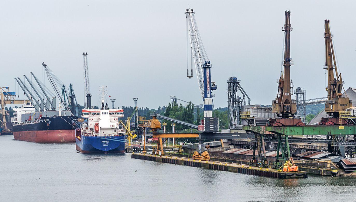 Statek z Liberii przypłynął do Świnoujścia (zdjęcie ilustracyjne, Shutterstock/WDnet Creation)