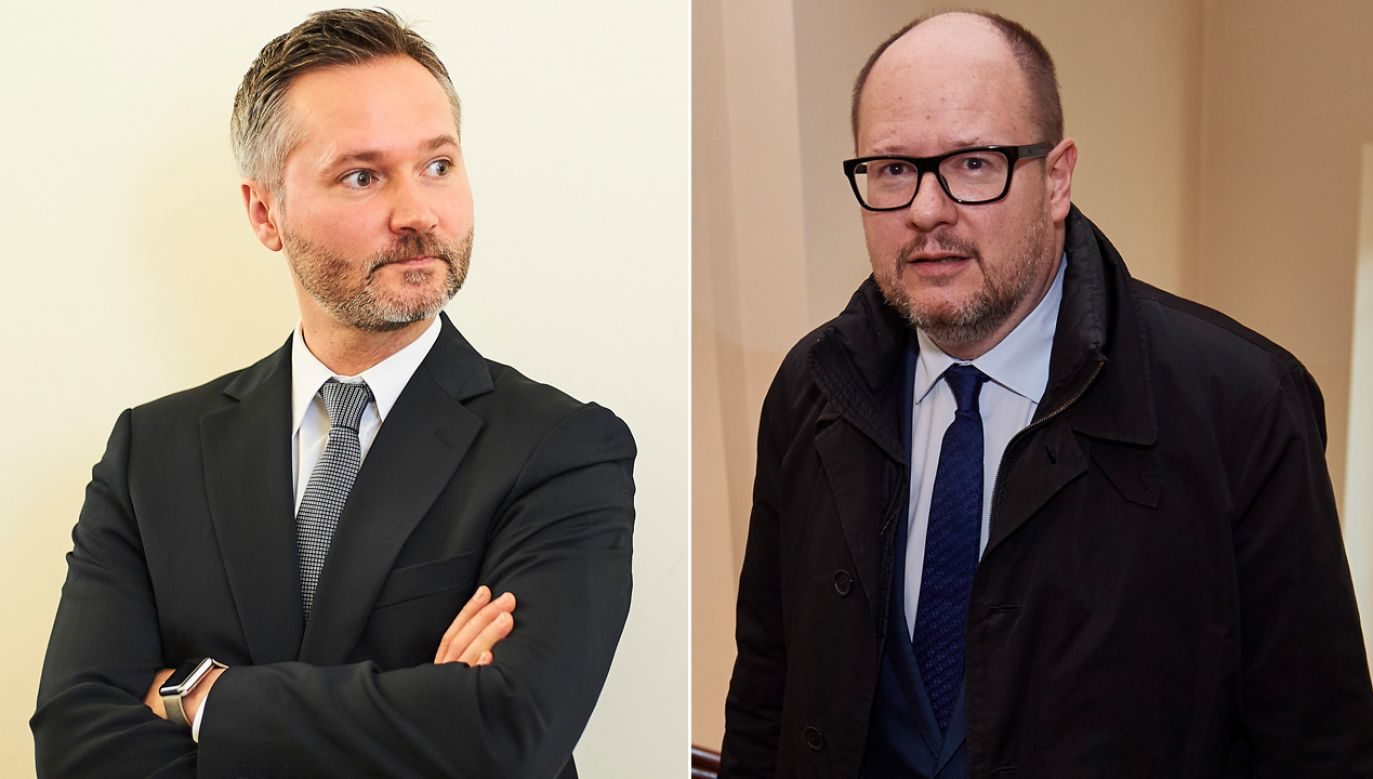 Wałęsa zaznaczył, że w ciągu ostatniego półtora roku wielokrotnie próbował spotkać się z Adamowiczem (fot. arch. PAP/Dominik Kulaszewicz/Adam Warżawa)