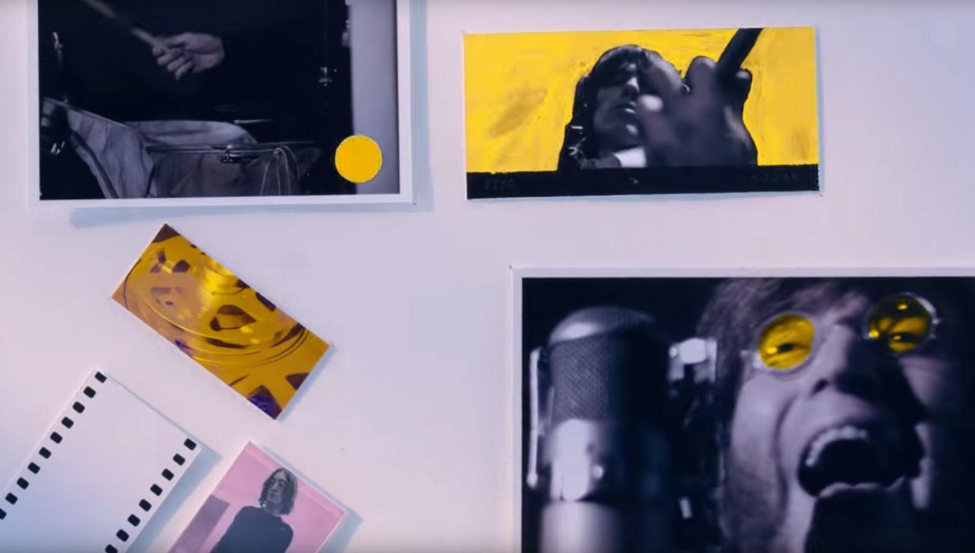 Teledysk został zmontowany w większości z materiałów archiwalnych (fot. YT/The Beatles)
