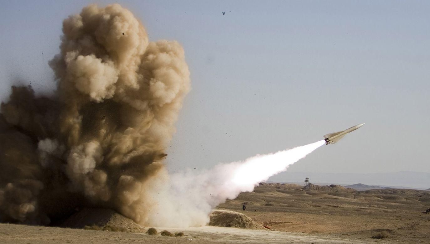 Iran twierdzi, że program rakietowy ma charakter obronny (fot. REUTERS/Iran's Army)