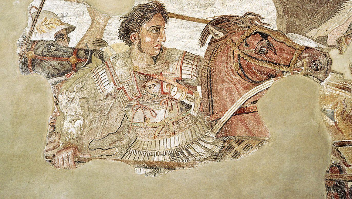 Pod Gaugamelą Aleksander Macedoński pokonał pięciokrotnie liczniejsze siły Persów (fot. CM Dixon/Print Collector/Getty Images)