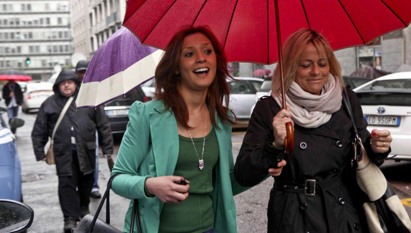 """Imane Fadil, uczestniczka przyjęć w rezydencji Berlusconiego, była potem jego surową oskarżycielką i mówiła o nim w zeznaniach w 2011 roku jako o """"niebezpiecznym sataniście"""" i """"słudze Belzebuba"""" (fot. PAP/EPA/DANIELE MASCOLO)"""