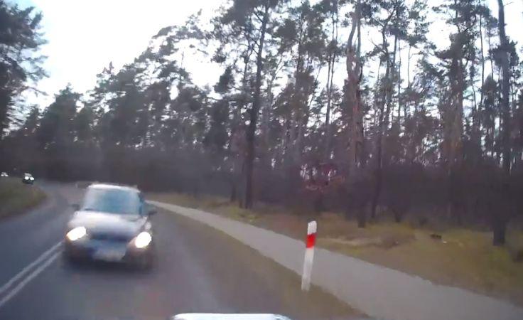 Zderzenie aut w Wieńcu