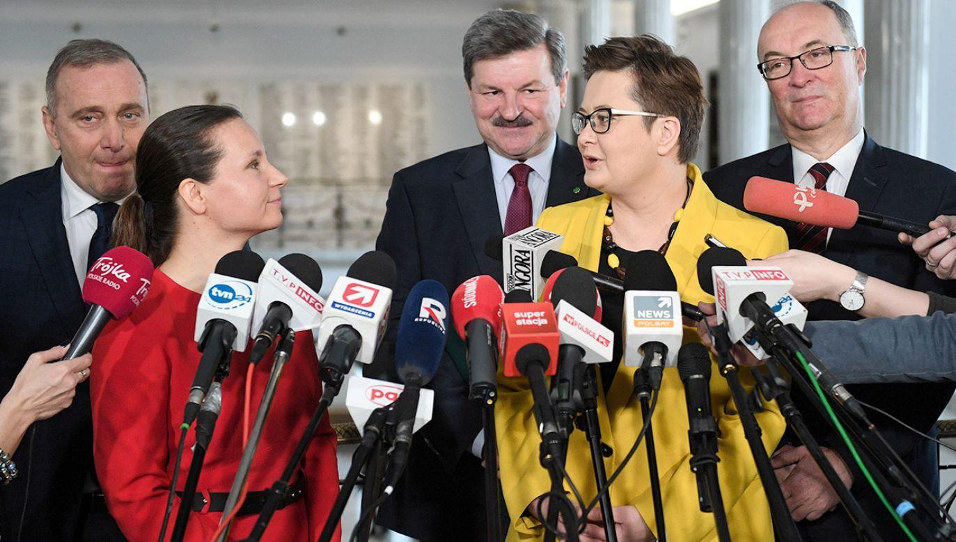 Saryusz-Wolski twierdzi, że partie tworzące Koalicję Europejską działają w interesie Rosji (fot. PAP/Radek Pietruszka)