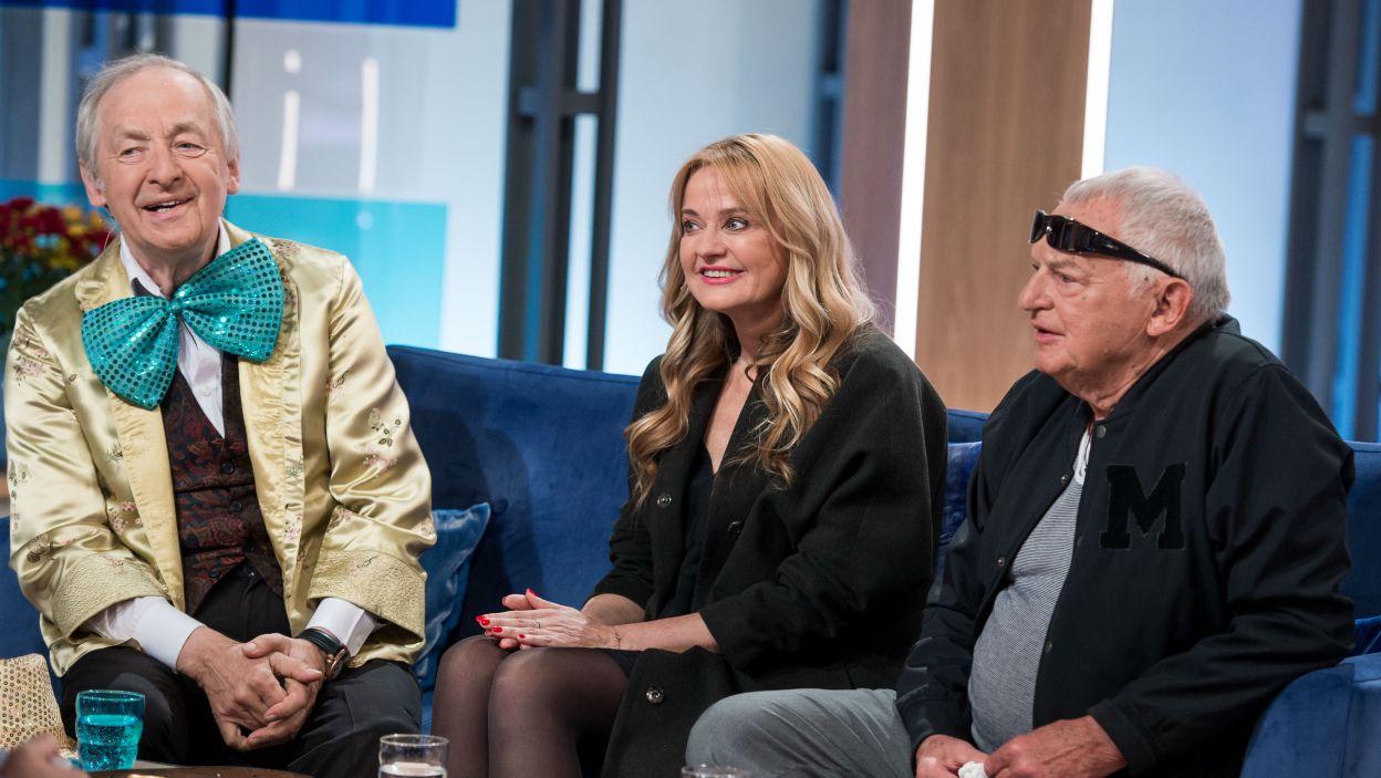 Jerzy Gruza, Mirella Kurkowska, Andrzej Rosiewicz