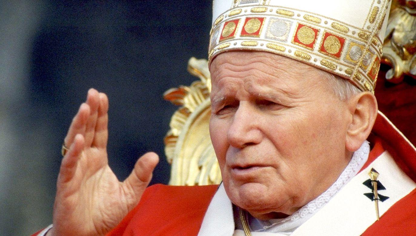 O pontyfikacie Jana Pawła II w TVP Info (fot. Franco Origlia/Getty Images)