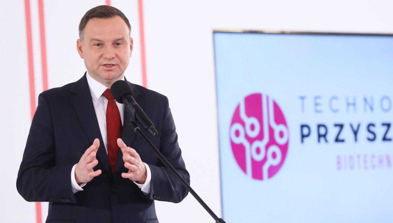 Prezydent Andrzej Duda (fot. PAP/Rafał Guz)