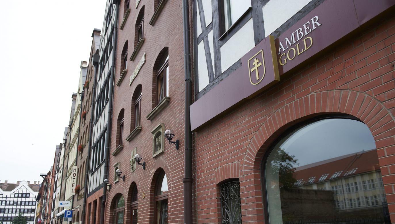 Gdańsk, siedziba firmy Amber Gold (fot. arch. PAP/Adam Warżawa)