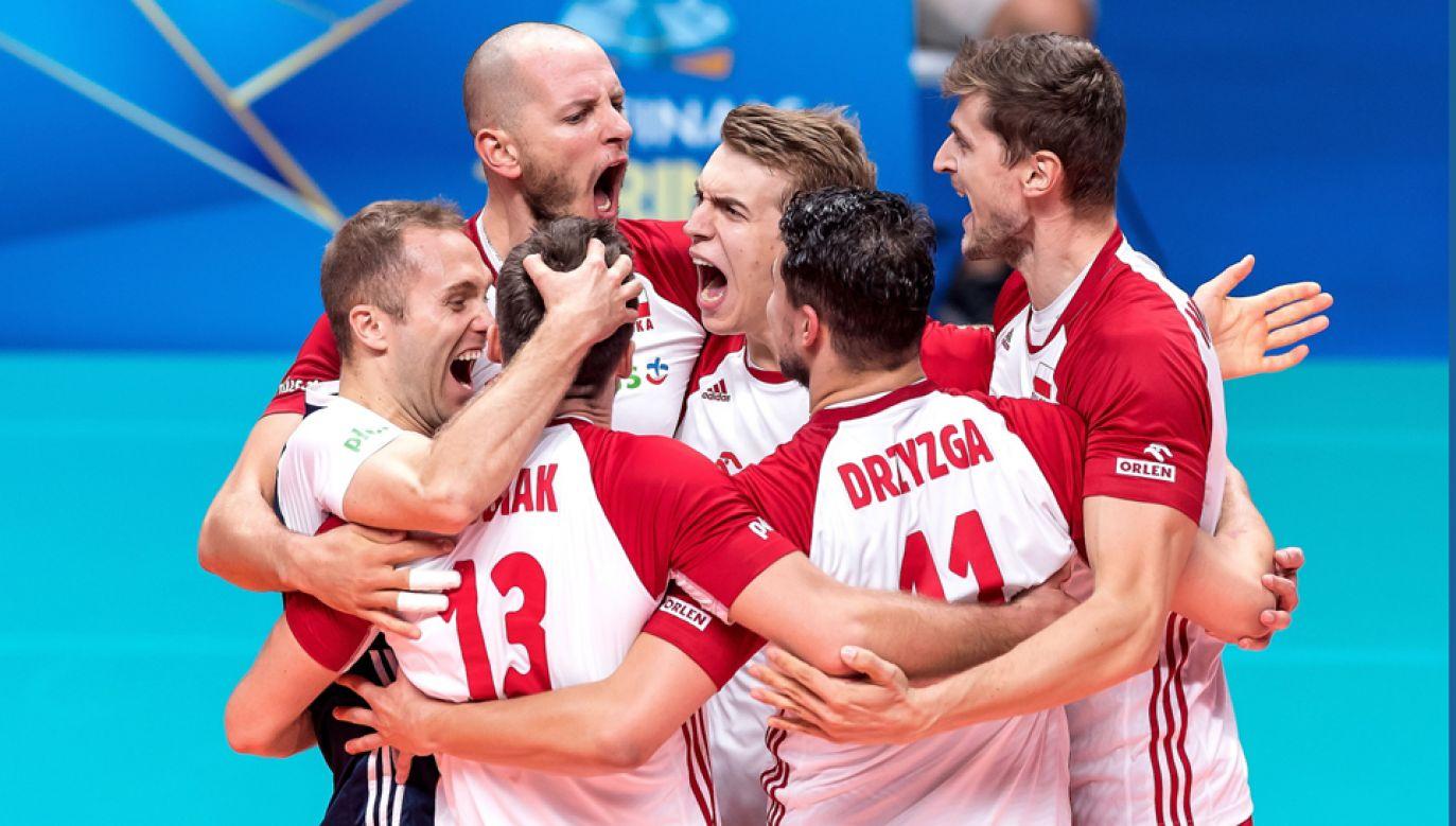 Polscy siatkarze awansowali do finału Mistrzostw Świata (fot. PAP/Maciej Kulczyński)