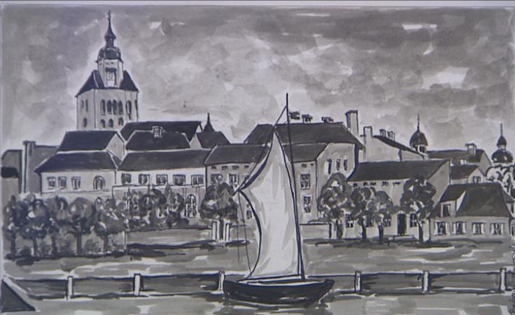 Akwarelowy Landsberg na 120 obrazach w Archiwum Państwowym