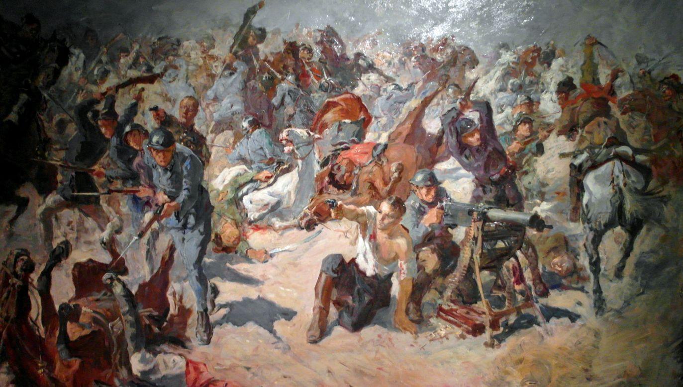 """""""Polskie Termopile"""" autorstwa Stanisława Batowskiego Kaczora (fot. Wikimedia Commons/Maciej Szczepańczyk)"""