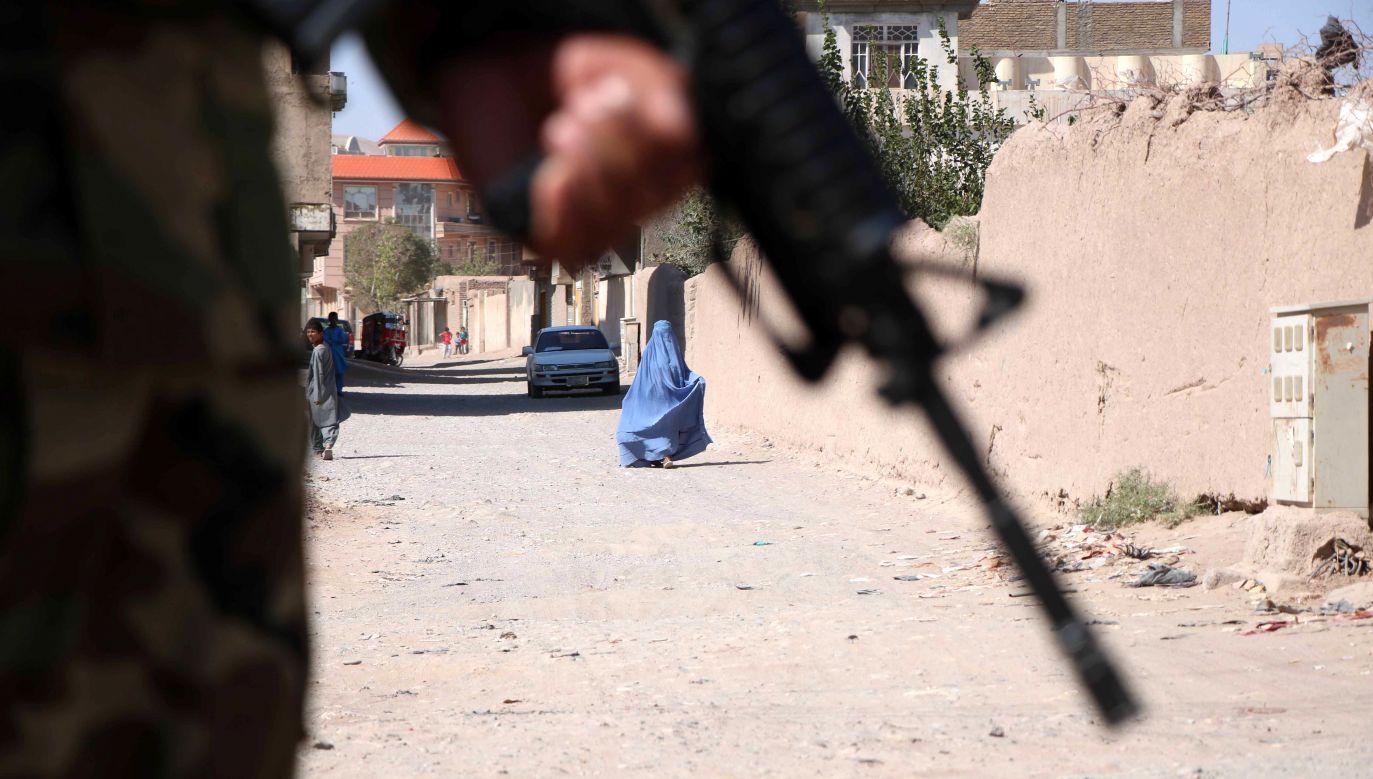 Według władz za podłożenie ładunku wybuchowego odpowiedzialni są talibowie (fot.PAP/AA/ABACA)