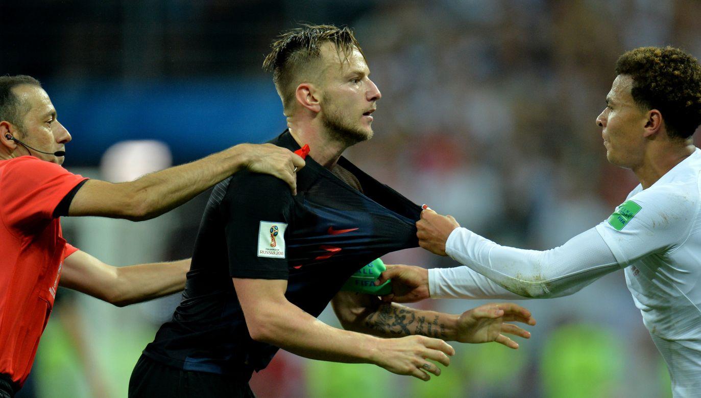 Ivan Rakitićdzień przed meczem miał 39 stopni gorączki. Zagrał i wytrzymał na boisku 120 minut (fot. PAP/EPA)