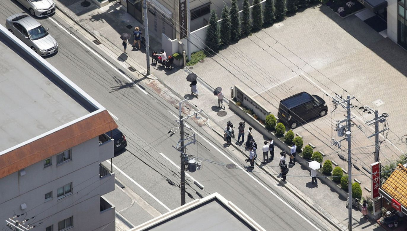 Dwie dziewczynki trafiły do szpitala (fot. TT/Japan Today)