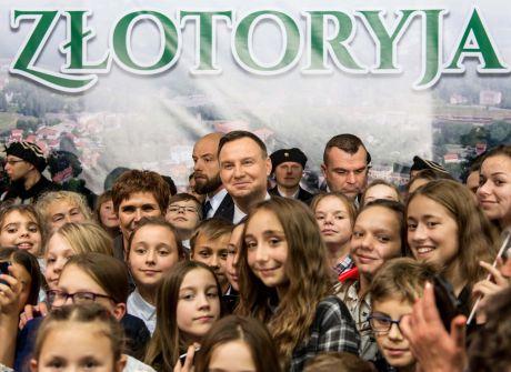 Wizyta prezydenta RP w Złotoryi