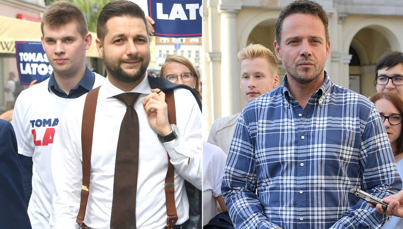 W stolicy już oficjalnie trwa kampania wyborcza (fot. PAP/Tytus Żmijewski/PAP/Marcin Obara)