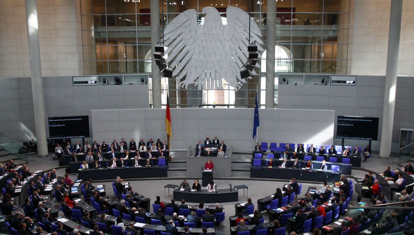 Bundestag, the German lower house of parliament, in Berlin, Germany. Photo: Michele Tantussi/Getty Images