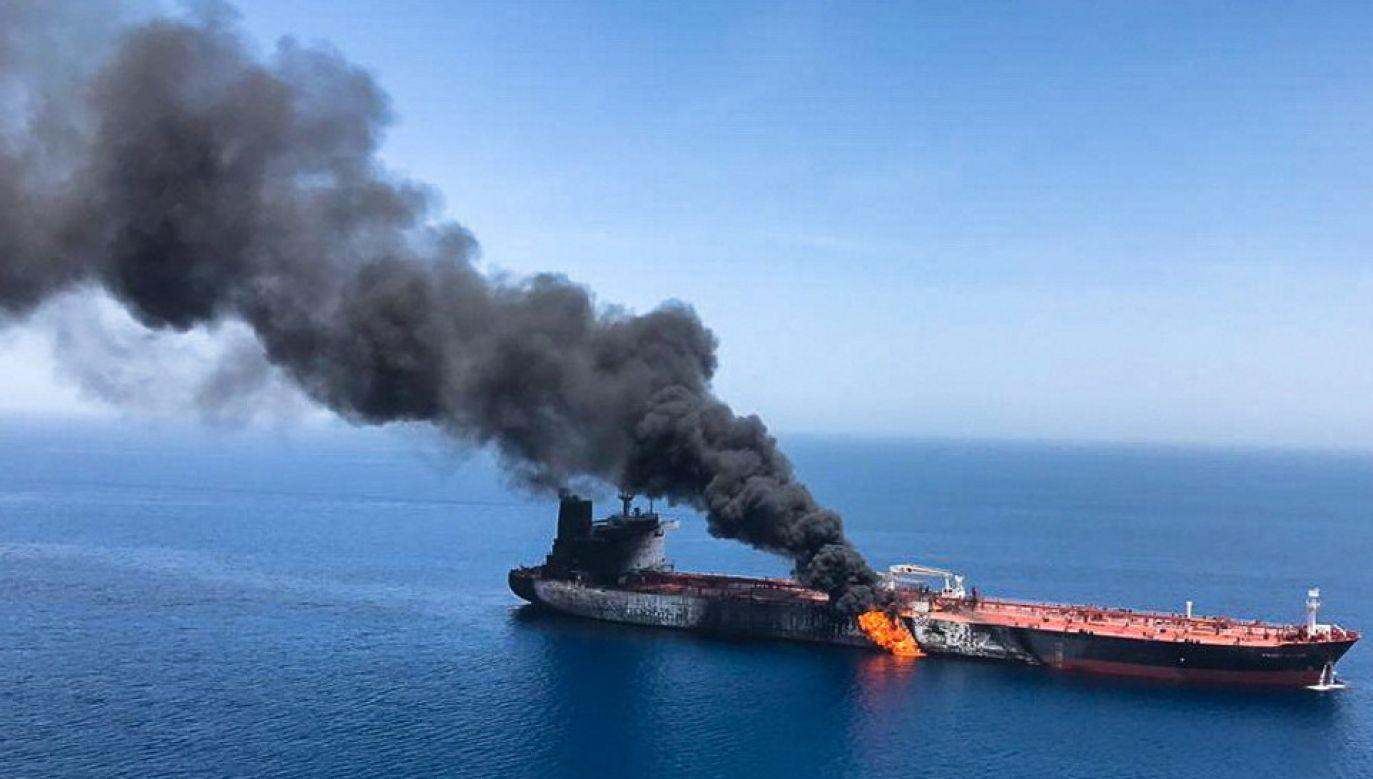 Nikt nie przyznał się do ataku na tankowce (fot. PAP/EPA/STRINGER)
